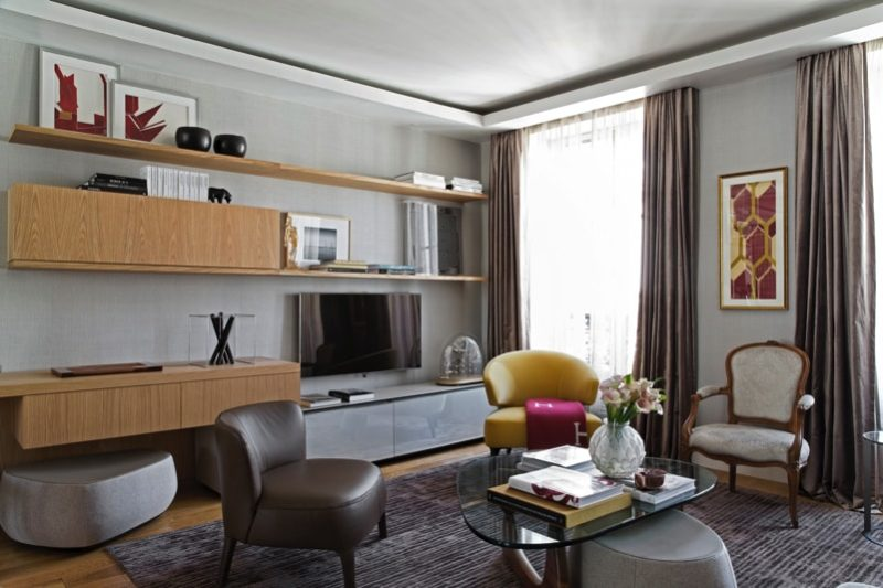 1 N0A1092 DxO min e1488655527286 - Paris Apartment by Diego Revollo Architect