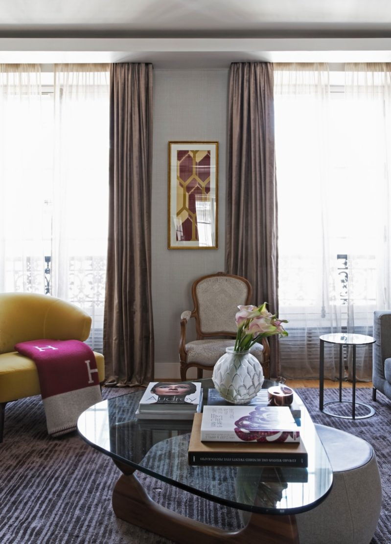 1 N0A1114 DxO min e1488655252523 - Paris Apartment by Diego Revollo Architect