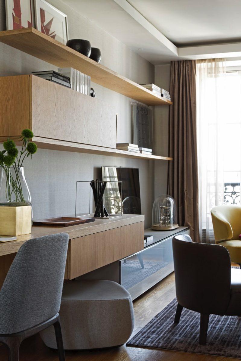 1 N0A1146 DxO min e1488655187917 - Paris Apartment by Diego Revollo Architect