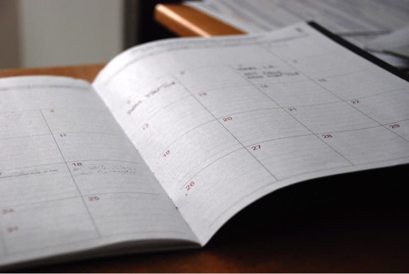 Calendar - Clean House Checklist & Cleaning Schedule