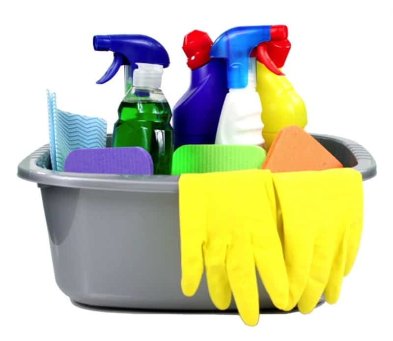 Cleaning products - Clean House Checklist & Cleaning Schedule