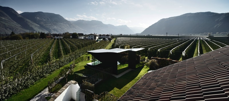 Mirror Houses high view - The Mirror Houses Holiday Homes In South Tyrol, Italy