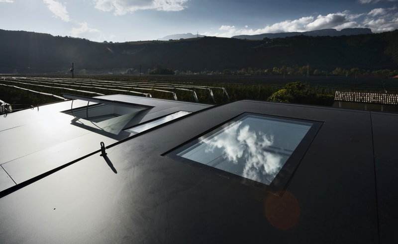 Mirror Houses roof - The Mirror Houses Holiday Homes In South Tyrol, Italy