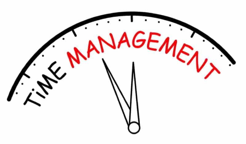 Time Management - Clean House Checklist & Cleaning Schedule