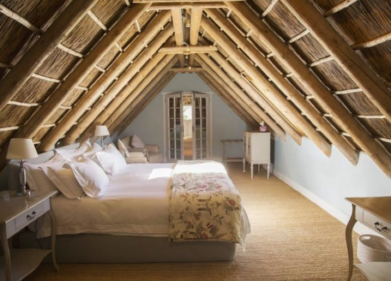 Bedroom in an attic