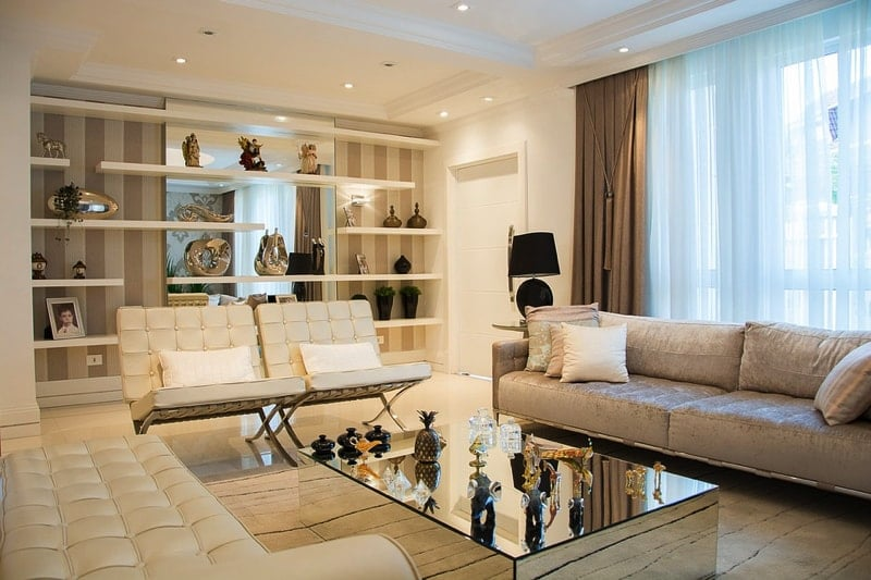 Living Area 2 - Complete Guide to Lighting Your Home