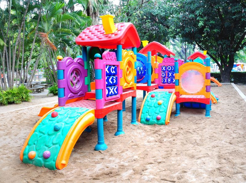 Children playground colorful e1500699353452 - Childrens' Outdoor Play Equipment