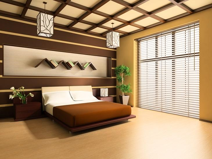Vertical and Venetian Timber Blinds