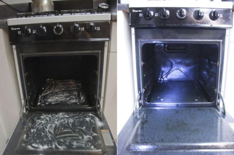 stove clean 800 min - 23 DIY Ideas To Clean Up Your Home
