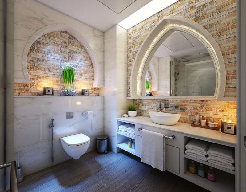 Modern Bathroom - Designing Your Bathroom to Look Modern & Minimalist