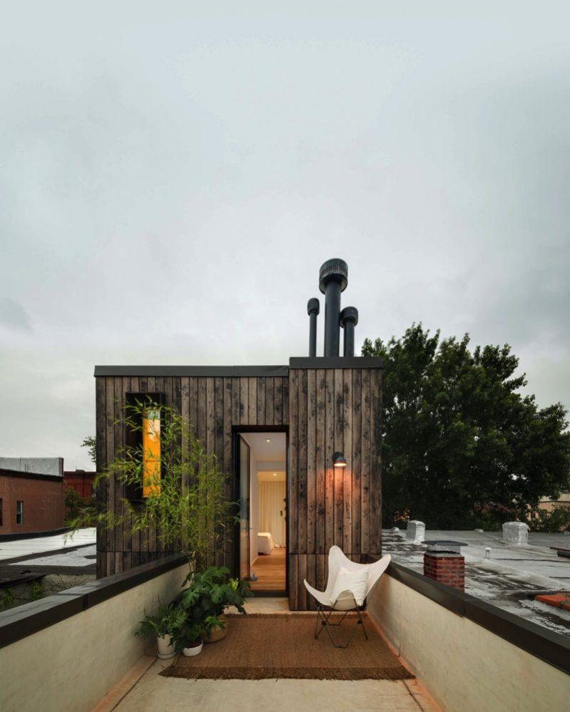 Little House In Brooklyn New York