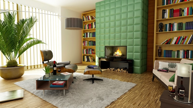 retro look living room style - Living Room Decorating Ideas