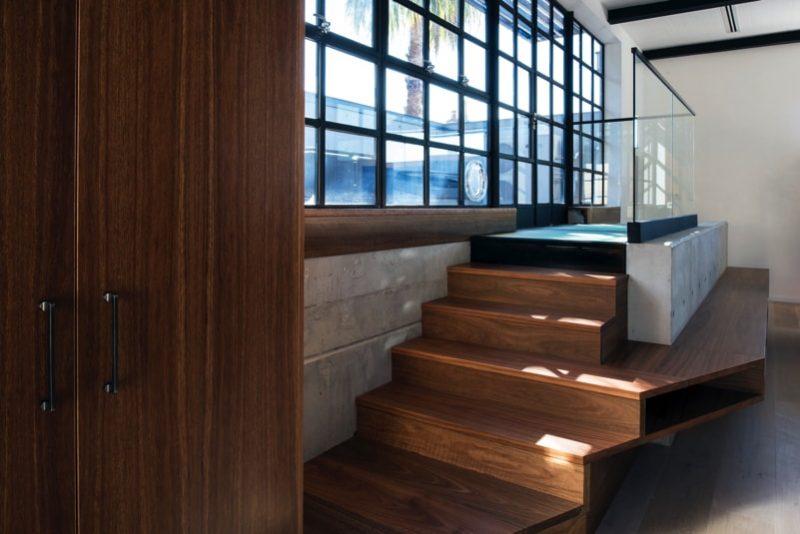 DSC6018 lounge stair to terrace min e1515693827902 - Glebe House, Sydney, Australia - Studio & Residence