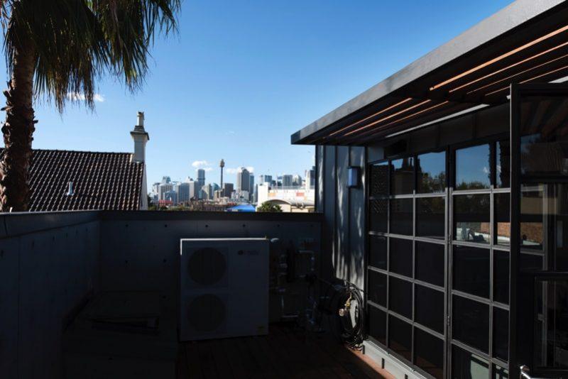 DSC6114 roof terrace min e1515693041560 - Glebe House, Sydney, Australia - Studio & Residence