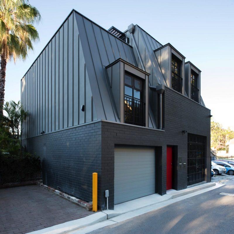 Panorama exterior min e1515694627455 - Glebe House, Sydney, Australia - Studio & Residence