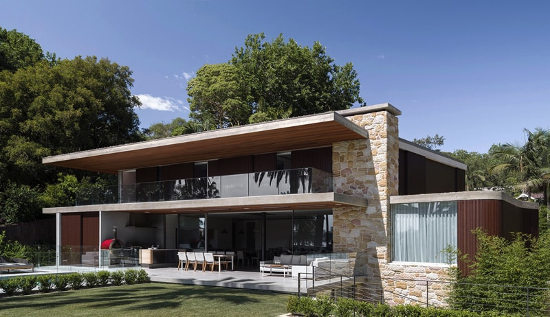 luigi rosselli architects sticks and stones house 005 - Sticks & Stones Home Sydney Australia by Luigi Rosselli Architects