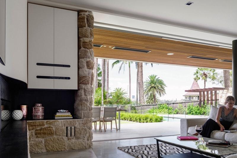 luigi rosselli architects sticks and stones house 018 - Sticks & Stones Home Sydney Australia by Luigi Rosselli Architects