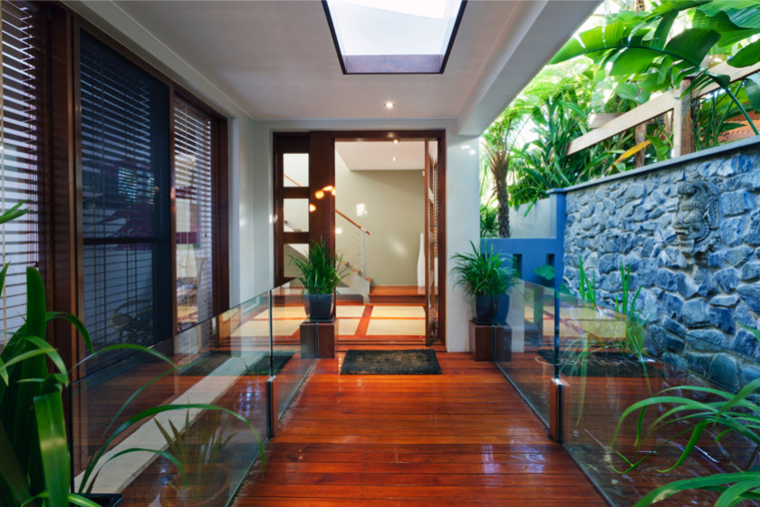 Home front entrance doors and humble entrance ways - What is a contemporary home ...