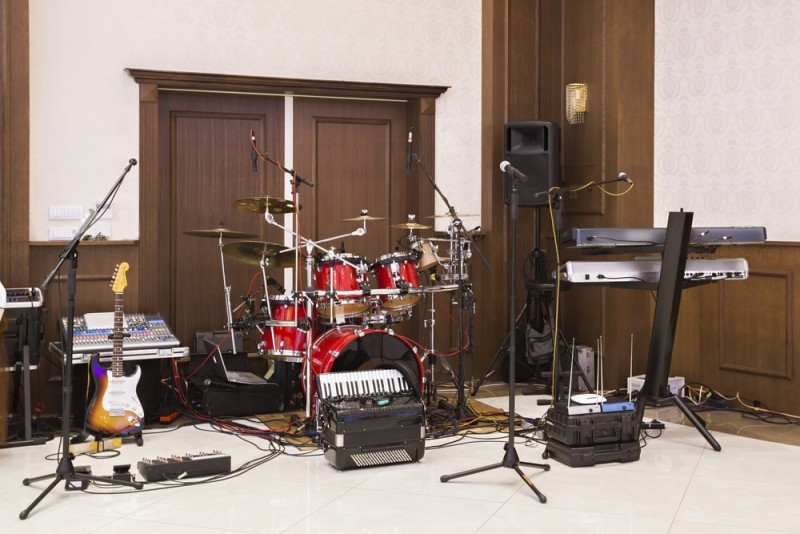Tiny House Furniture >> Music Practice Rooms and Home Music Studio Ideas