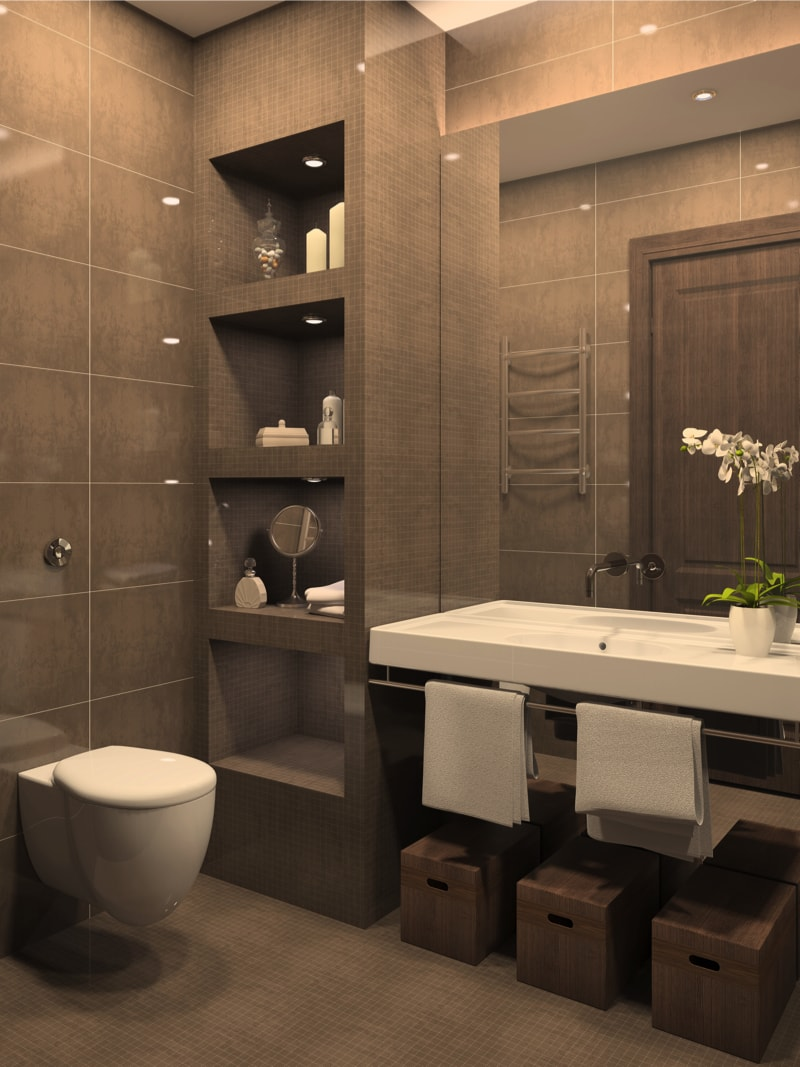 49 Relaxing Bathroom Design and Cool Bathroom Ideas on Modern Small Bathrooms  id=44274
